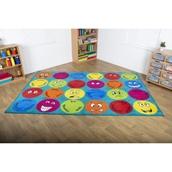 Emotions™ Rectangular Placement Carpet – Classmates