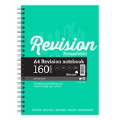 Silvine Luxpad Revision Notebooks - A4 - Pack of 5