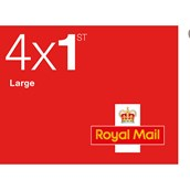 Royal Mail 1st Class Large Stamps - Sheet of 4
