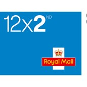 Royal Mail 2nd Class Stamps - Sheet of 12