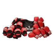 Eastside Boxing Active Group Set - Red/Black