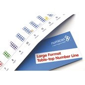 Numicon® Large Format Table Top Number Line