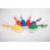 Rainbow Tongs - Pack of 6