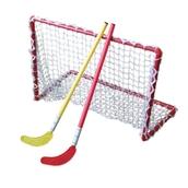 Eurohoc Floorball Mini Hockey Goals - Red - Pair