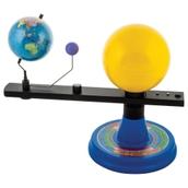 Sun, Earth & Moon Orbitor Model with LED