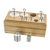 Stainless Steel Weights - Pack of 9 - 10g to 1kg