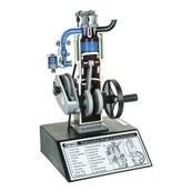 Four-Stroke Petrol Engine Model