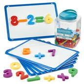 Magnetic White Boards with free Magnetic Numbers
