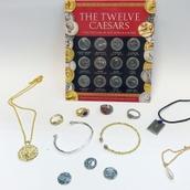 Roman Coin & Jewellery Pack