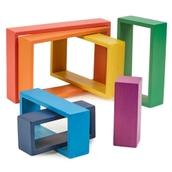 TickiT Rainbow Architect Rectangles