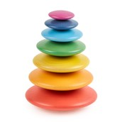 TickiT Rainbow Wooden Buttons