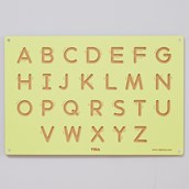 Wooden Formation Board- Uppercase Letters