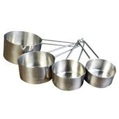 Metal Measuring Cups - Pack of 4