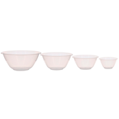 Nesting Plastic Mixing Bowls - Pack of 4