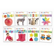 My First... Board Books - Pack of 8
