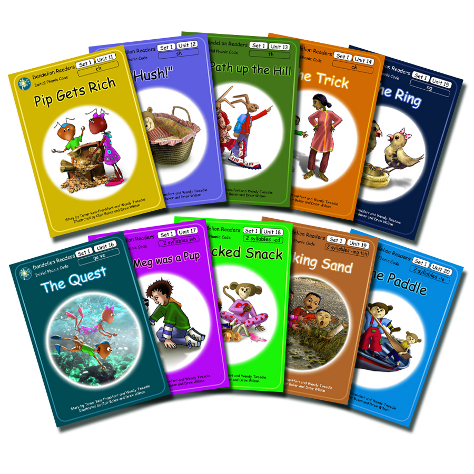 HE1814652 - Dandelion Phonics Readers Set 1 (11-20)   Hope Education