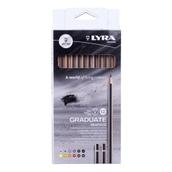 Lyra Graduate Graphite Pencils - Pack of 12