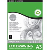 Daler Rowney Simply Eco Drawing Pad - A3