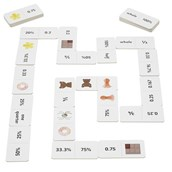 Fractions, Decimals and Percentages Domino Links
