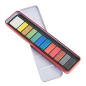 Classmates Watercolour Tin - 12 Block