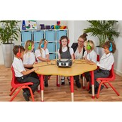 Group listener CD Player with 6 Headphones from Hope Education
