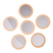 Learn Well Education Little Looking Mirrors - Pack of 6
