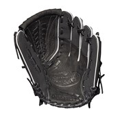Louiseville Softball Slugger Gloves - Left-Handed - Black