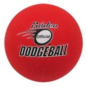 Baden Dodgeball - Red - 7in