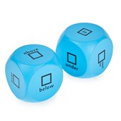 Prepositions Cubes