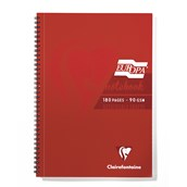 Clairefontaine Europa Notebooks - Red - A4 - Pack of 5