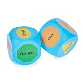 2D Shapes Cubes - Pack of 2