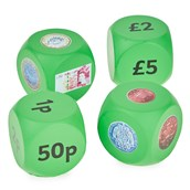 Money cubes - Pack of 4