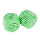 Tell the Time Cubes - Pack of 2