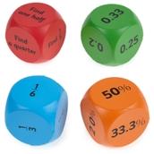 Fractions, Decimals & Percentage Cubes