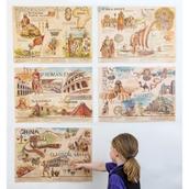 Ancient Civilizations Bulletin Board Set