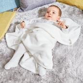 Fleece Blanket - Cream from Hope Education