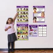 Feelings Bulletin Board Set