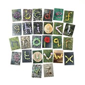 Lowercase Natural Alphabet Cards from Hope Education