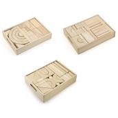 Unit Block Set of 3 Trays by Hope Education