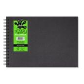 Spiral Sketchbooks - Landscape - A4 - Black Paper