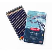 Derwent Inktense Pencils - Tin of 12