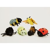 The Puppet Company Minibeast finger puppets - Set of 6