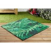 Indoor/Outdoor Mat - Fern Design