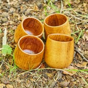 Wooden Tumblers from Hope Education