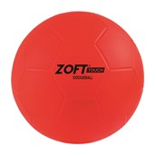 Zoft Touch Dodgeball - Red - 6in