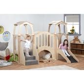 Hide N Slide Kinder Gym with Roof