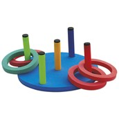 Ring Toss Target Game - Multi