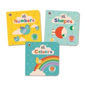 Baby Touch Books - Pack of 3