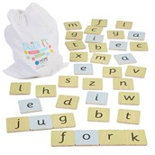 Click It Jumbo Word Building Sack from Hope Education
