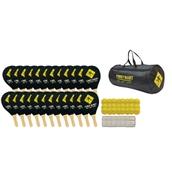 Street Racket School Set - Black/Yellow